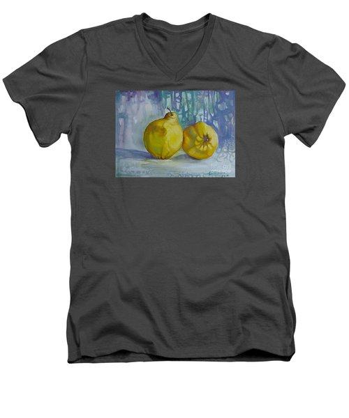 Two Quinces Men's V-Neck T-Shirt