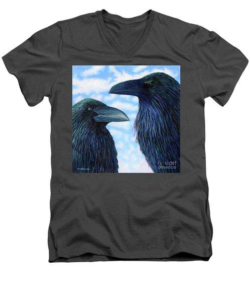 Two Ravens Men's V-Neck T-Shirt