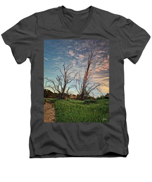 Two Sentinels Men's V-Neck T-Shirt