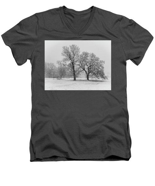 Two Sister Trees Men's V-Neck T-Shirt