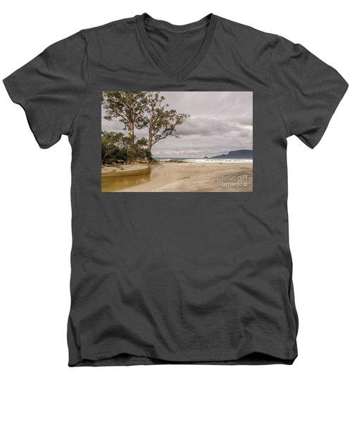 Two Tree Point Men's V-Neck T-Shirt