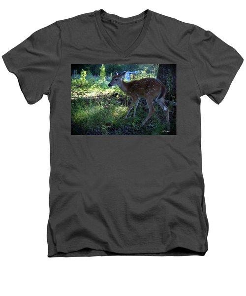 Tzva'ot Looking Good Men's V-Neck T-Shirt by Bill Stephens
