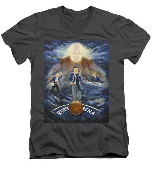U Of K Tradition Men's V-Neck T-Shirt
