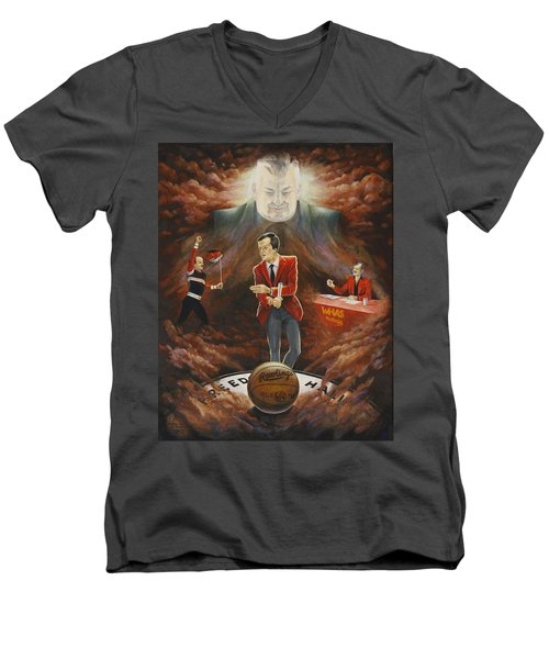 U Of L Tradition Men's V-Neck T-Shirt