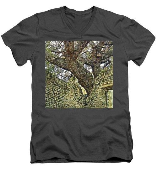 U-turn Men's V-Neck T-Shirt
