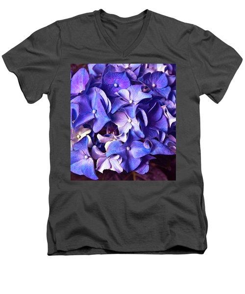 Ultra Violet Dance Men's V-Neck T-Shirt