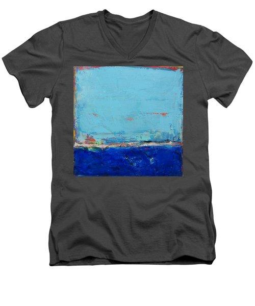 Un Jour A La Fois Men's V-Neck T-Shirt