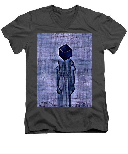 Unacknowledged Men's V-Neck T-Shirt