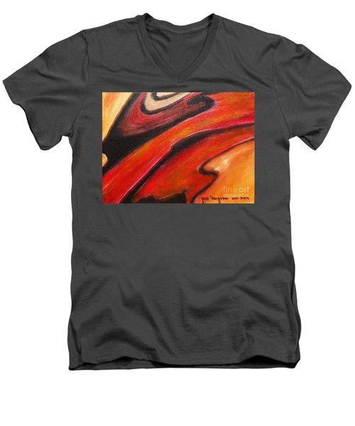 Uncertainity Men's V-Neck T-Shirt