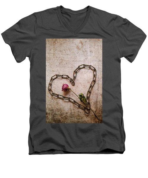Unchain My Heart Men's V-Neck T-Shirt