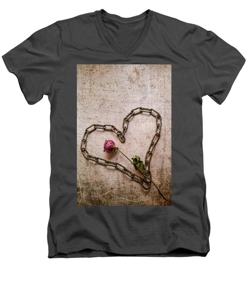 Unchain My Heart Men's V-Neck T-Shirt