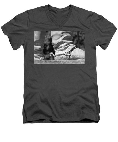 Uncle John's Spurs Men's V-Neck T-Shirt