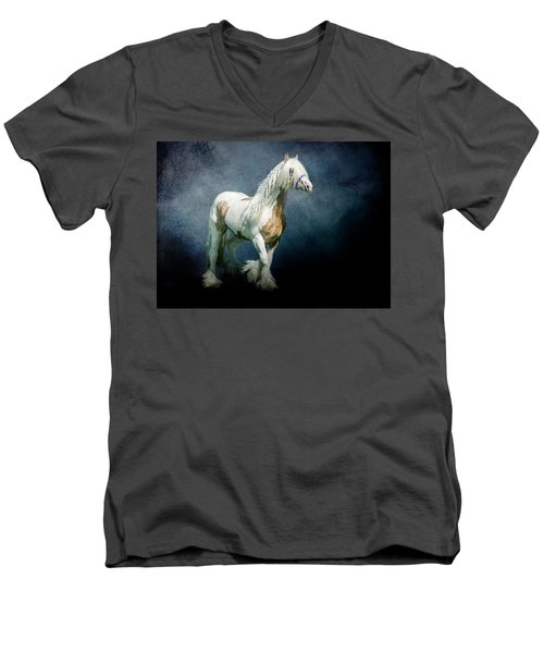 Under A Gypsy Moon Men's V-Neck T-Shirt