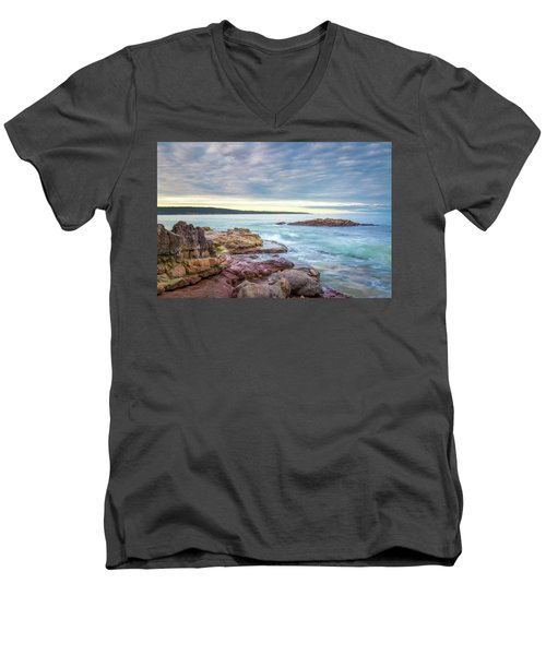 Under Eden Skies Men's V-Neck T-Shirt