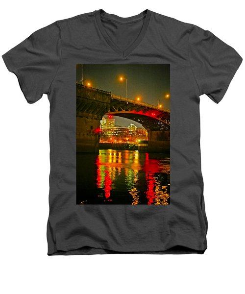 Under The Burnside Men's V-Neck T-Shirt