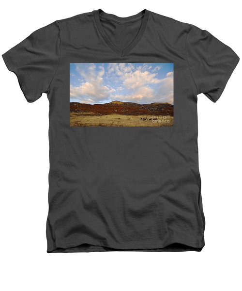 Under The Colorado Sky Men's V-Neck T-Shirt