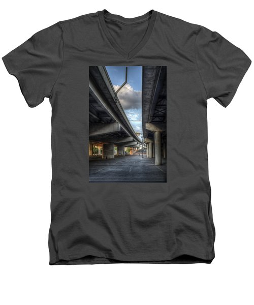 Under The Overpass II Men's V-Neck T-Shirt