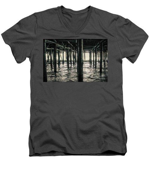 Under The Pier 3 Men's V-Neck T-Shirt
