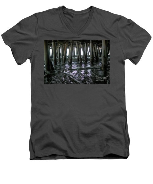 Under The Pier 4 Men's V-Neck T-Shirt