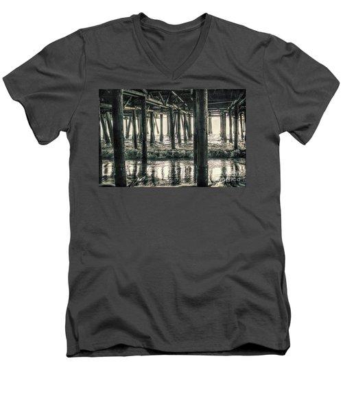 Under The Pier 5 Men's V-Neck T-Shirt