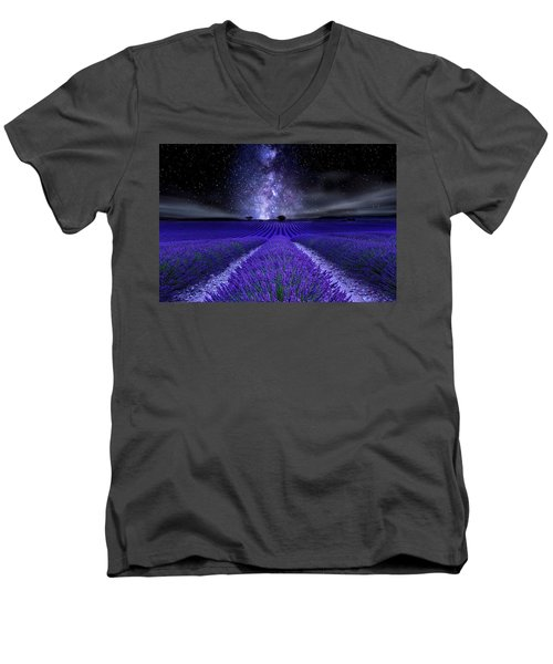 Under The Stars Men's V-Neck T-Shirt