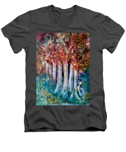 Under The Trees Men's V-Neck T-Shirt
