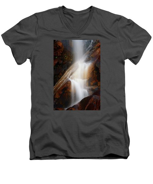 Under The Vaille Men's V-Neck T-Shirt by Rick Furmanek
