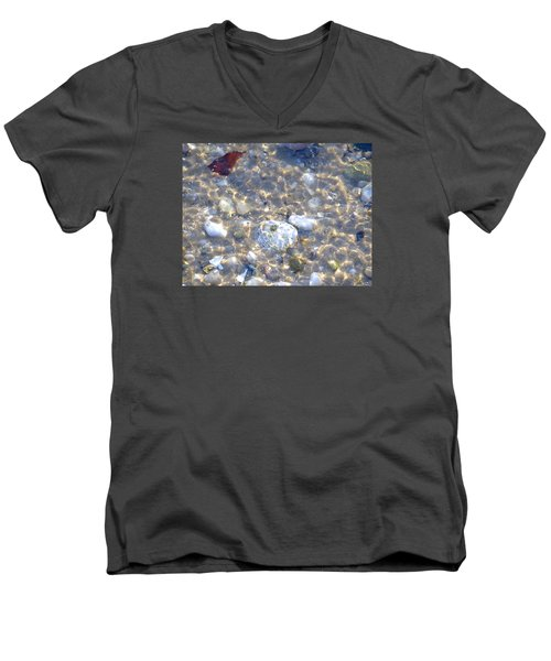 Under Water Men's V-Neck T-Shirt by  Newwwman