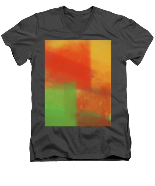 Undercover Men's V-Neck T-Shirt by Dan Sproul
