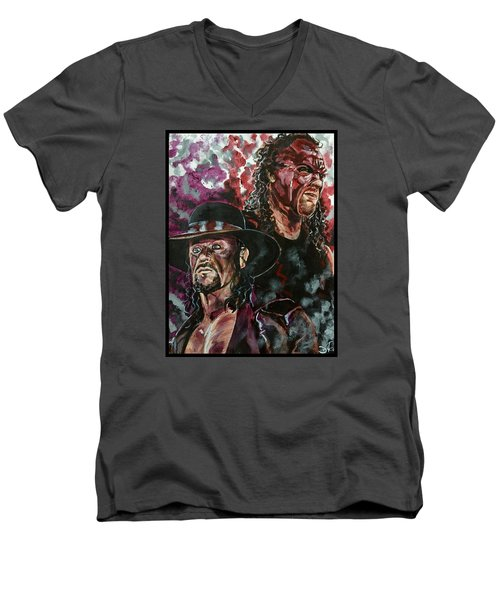 Undertaker And Kane Men's V-Neck T-Shirt