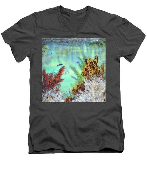 Underwater #2 Men's V-Neck T-Shirt