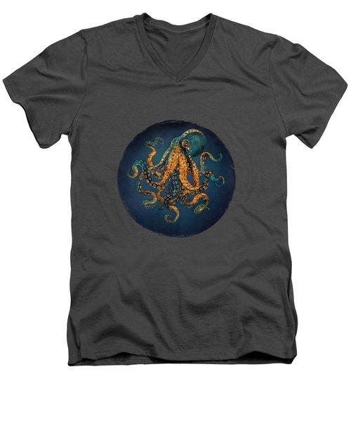 Underwater Dream Iv Men's V-Neck T-Shirt