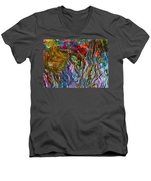 Underwater Seascape Men's V-Neck T-Shirt