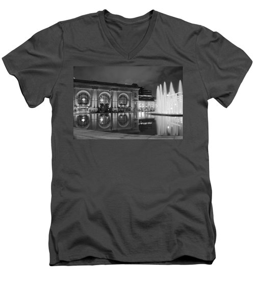 Union Station Reflections Men's V-Neck T-Shirt