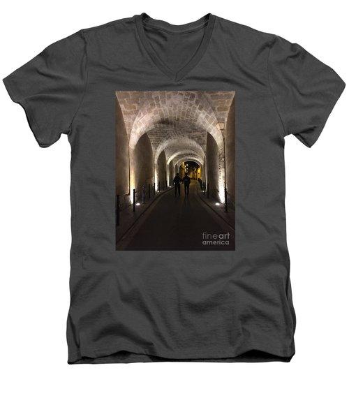 Unique Walkway Men's V-Neck T-Shirt