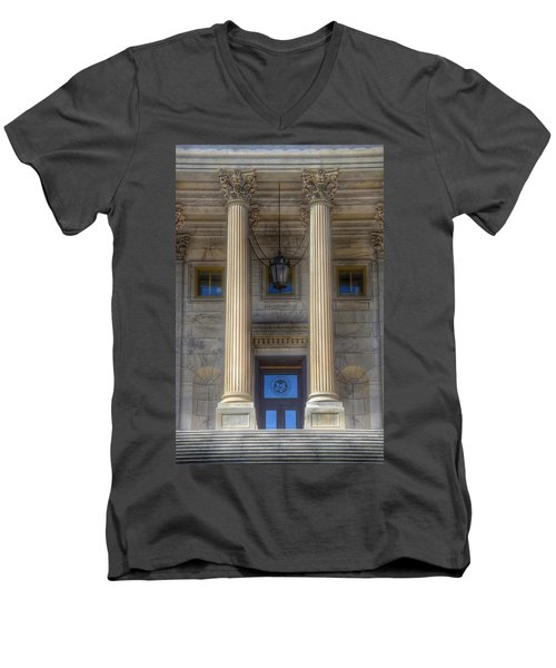 United States Capitol - House Of Representatives  Men's V-Neck T-Shirt