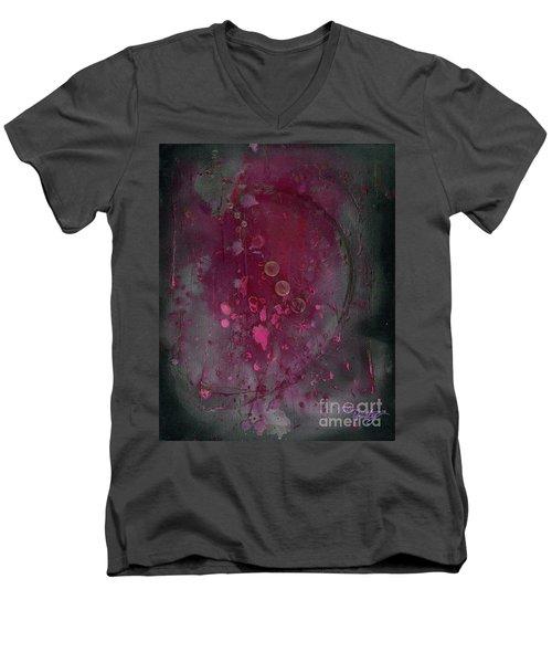 Universal Goddess 3 Of 3 Men's V-Neck T-Shirt by Talisa Hartley