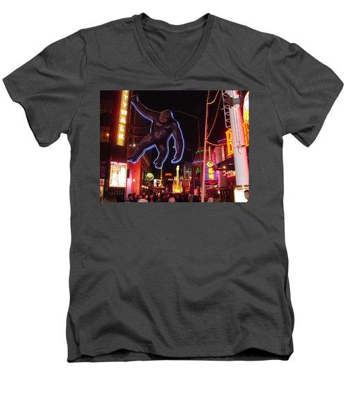 Universal King Kong Men's V-Neck T-Shirt