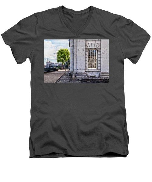 University Corner Men's V-Neck T-Shirt