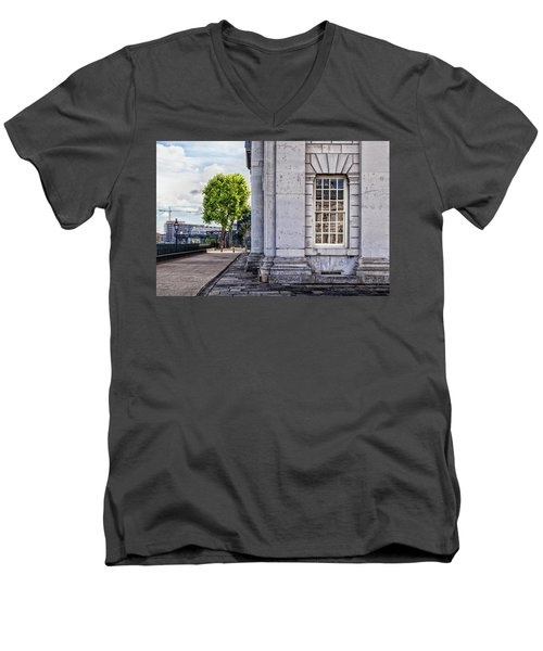 University Corner Men's V-Neck T-Shirt