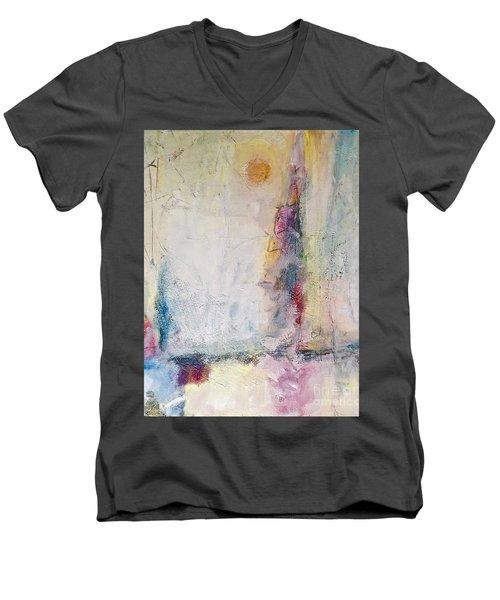 Sherbert Tales Men's V-Neck T-Shirt by Gallery Messina