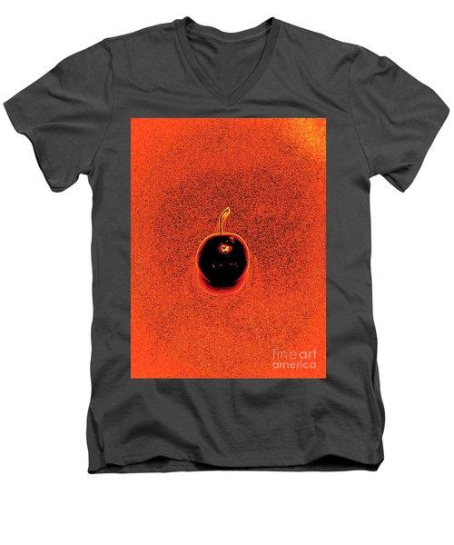 Cherry Men's V-Neck T-Shirt