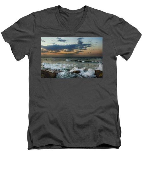 Unsettled Men's V-Neck T-Shirt