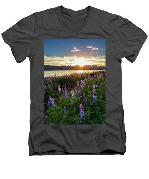 Untamed Beauty Men's V-Neck T-Shirt