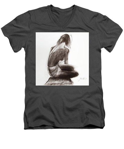 Until The Sea Shall Free Them Men's V-Neck T-Shirt by Jarko Aka Lui Grande