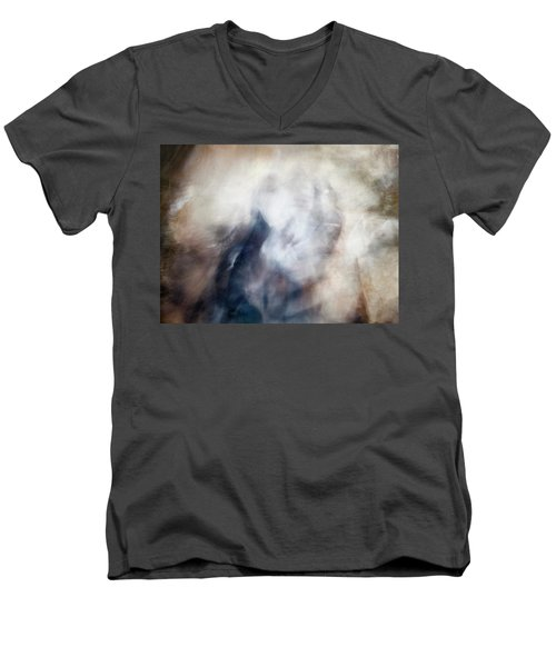 Untitled #0243, From The Soul Searching Series Men's V-Neck T-Shirt