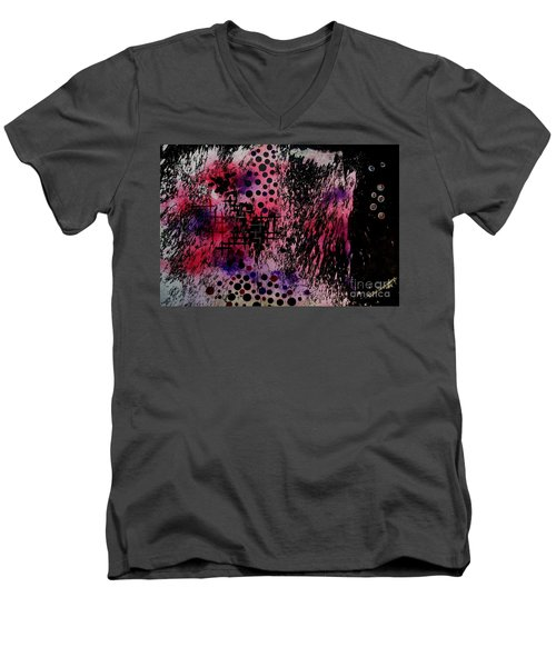 Bubbles Men's V-Neck T-Shirt