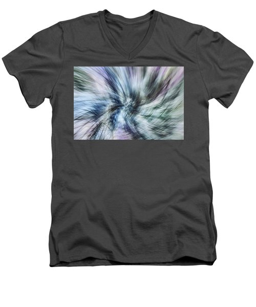 Untitled #8380, From The Soul Searching Series Men's V-Neck T-Shirt