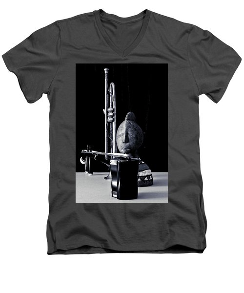 Men's V-Neck T-Shirt featuring the photograph Untitled A by Elf Evans