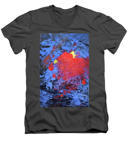 Untitled Abstract-7-817 Men's V-Neck T-Shirt